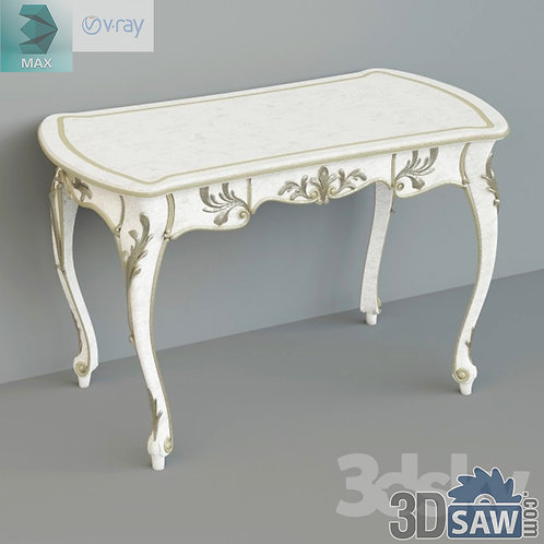 3ds Max Table Model - 3d Model Free Download - MX-964