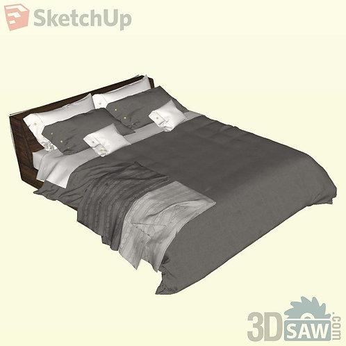 Bed - Bedroom Item Decor - SU-0000023