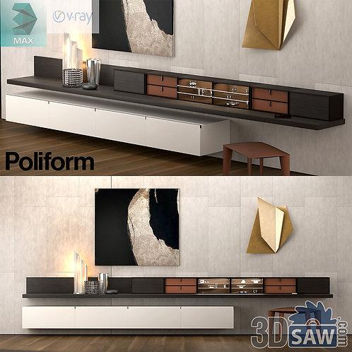 Wardrobe - Display Cabinets - Shelf - Sideboards - MX-753