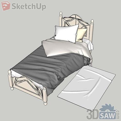 Bed - Single Bed - SU-0000054