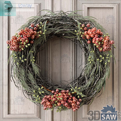 Christmas Decor - Wreath - MX-0000197