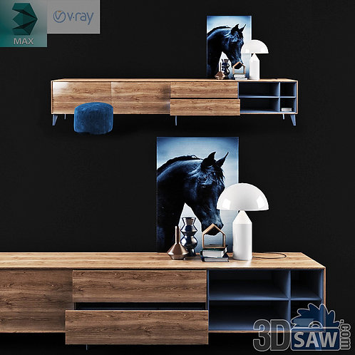 Wardrobe - Display Cabinets - Shelf - Sideboards - MX-728