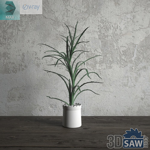 Flower Vase - Interior Plants - Planter - Plant - MX-672