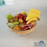 3ds Max Fruit Set Display - Free 3d Models Download - 3DSAW.COM