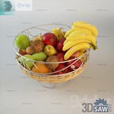 3ds Max Fruit Set Display - Free 3d Models Download - 3DSAW.COM
