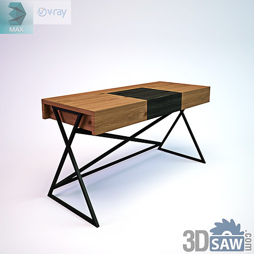 3ds Max Table Model - 3d Model Free Download - MX-1156