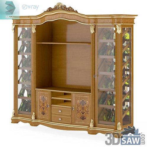Showcase - Baroque Decor - Vintage Furniture - MX-512