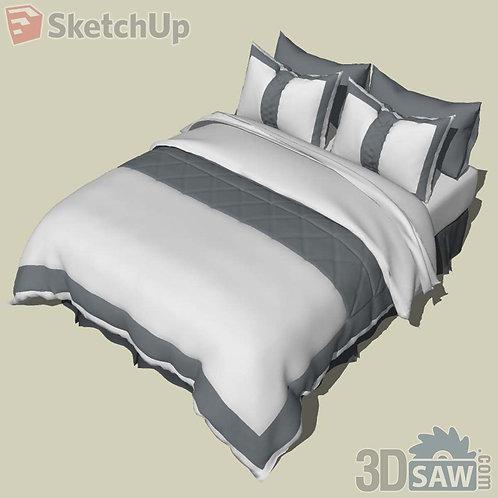 Bed - Bedroom Item Decor - SU-0000035