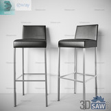 3ds Max Bar Stool Chair - Free 3d Models Download - 3DSAW.COM