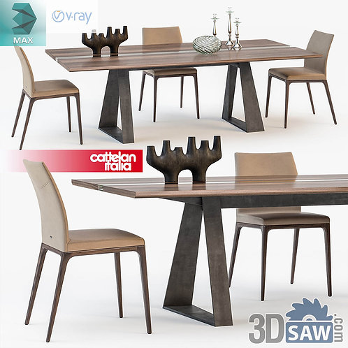 Table And Chairs Set - MX-0000190