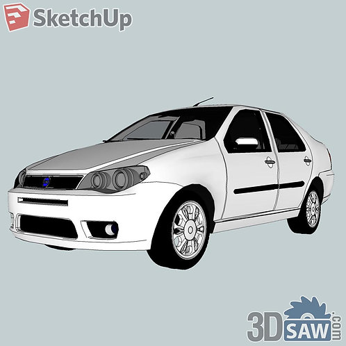 Car Vehicle Models - Fiat Siena - SU-0000125