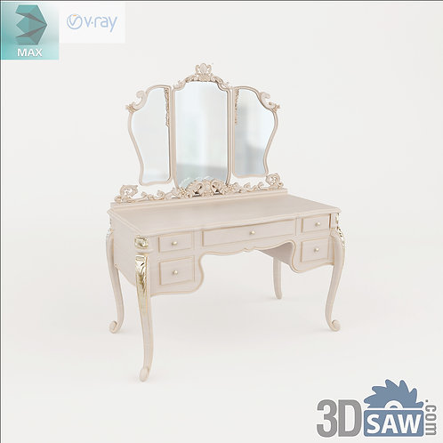 3ds Max Table Model - 3d Model Free Download - MX-1244