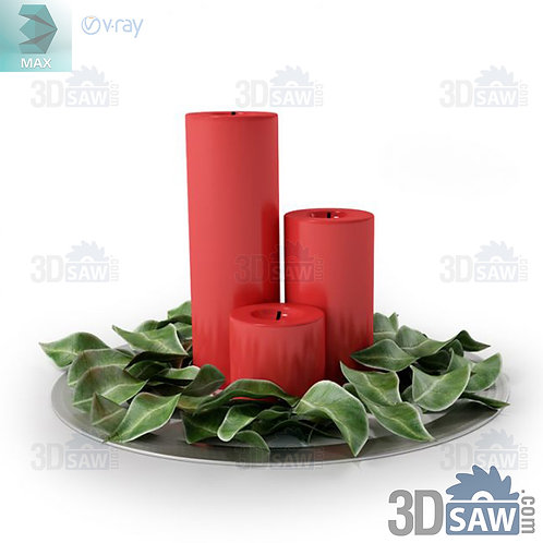 Christmas Decor - Candle Holder - MX-0000260