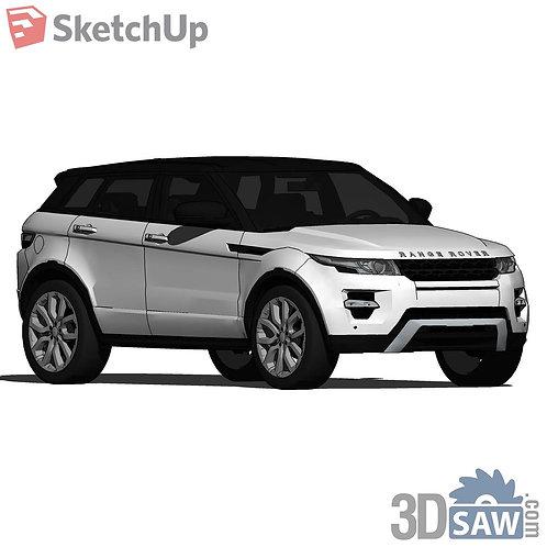 Car Vehicle Models - Range Rover Evoque - SU-0000177