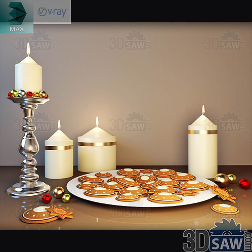 Christmas Decor - Candle Holder - MX-0000194