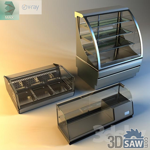 Food Display Case - Hot Food Bar - MX-863