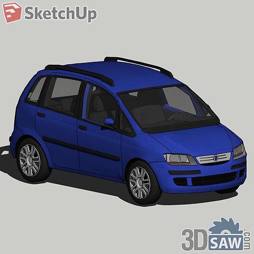 Car Vehicle Models - Fiat Idea - SU-0000126