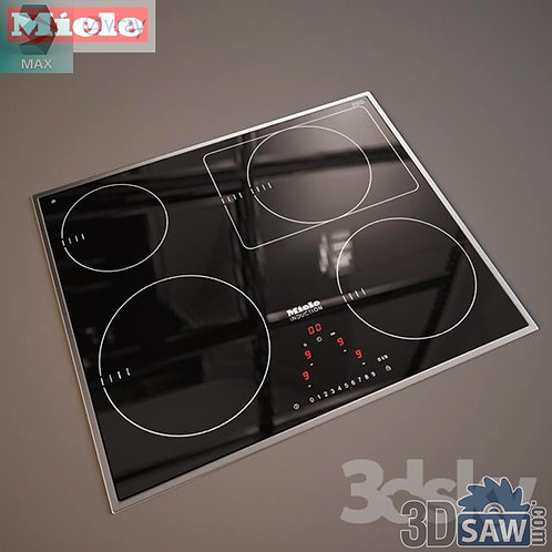3ds Max Induction Cooker - Kitchen Items - 3d Model Free Download