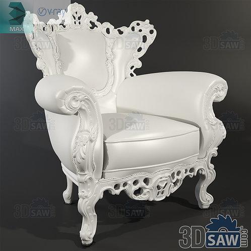 Armchair - Baroque Decor - Vintage Furniture - MX-441