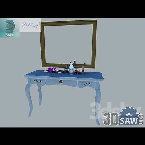 3ds Max Table Model - 3d Model Free Download - MX-1238