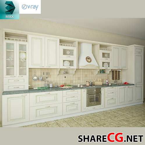 Kitchen Cabinets Casework - MX-0000023