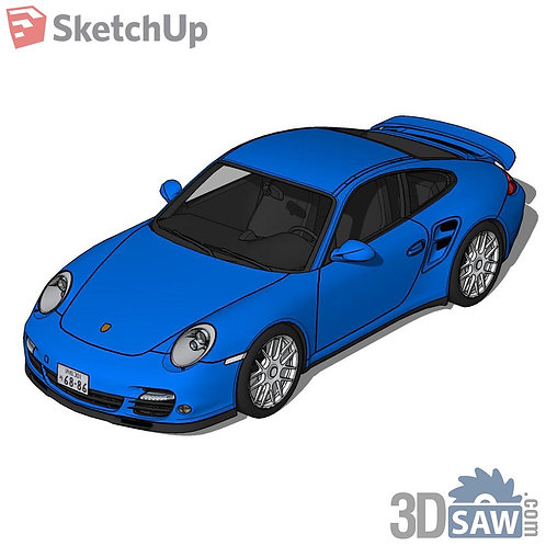 Car Vehicle Models - Porsche 997 Turbo - SU-0000137