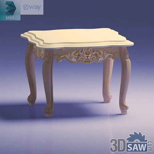Classic Coffee Table - Baroque Decor - Vintage Furniture - MX-501