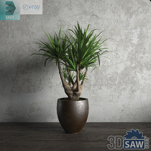 Flower Vase - Interior Plants - Planter - Plant - MX-677