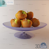3ds Max Fruit - Apples - Free 3d Models Download - 3DSAW.COM