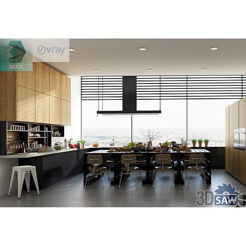 Kitchen Cabinets Casework - Kitchen Room Design - MX-654