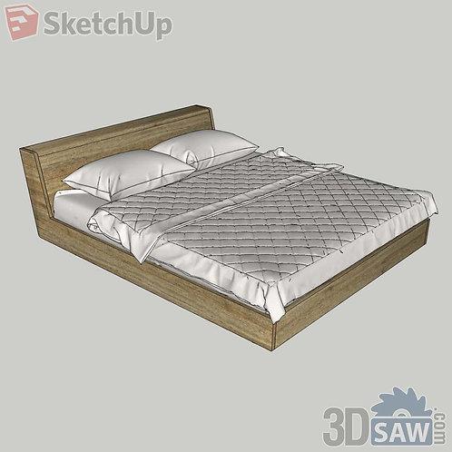 Bed - Bedroom Item Decor - SU-0000019