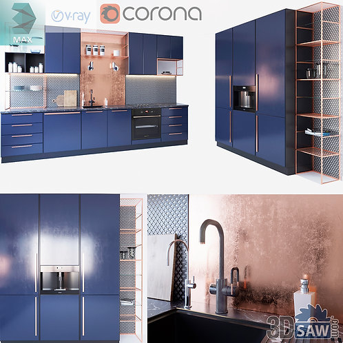 Kitchen Cabinets Casework - Kitchen Room Design - MX-628