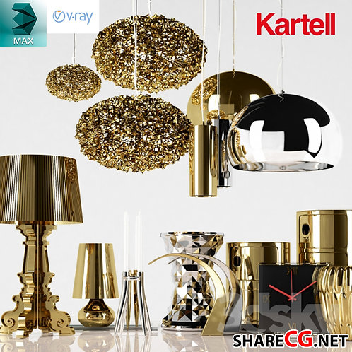 Gold Lamp Vase Decoration - MX-0000055