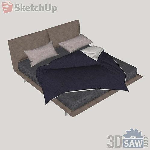 Bed - Bedroom Item Decor - SU-0000018