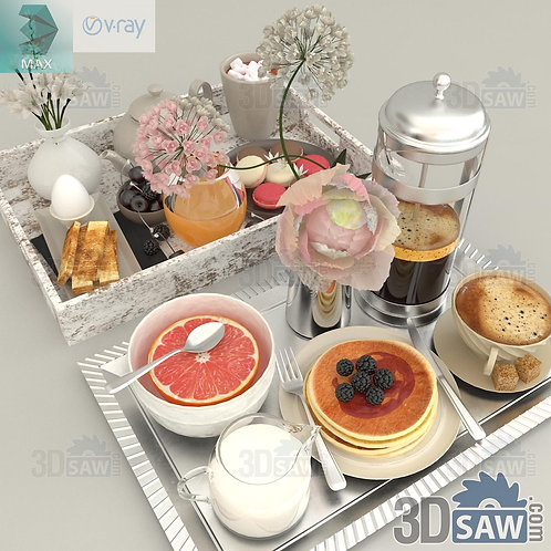 Foods And Trays - MX-0000215