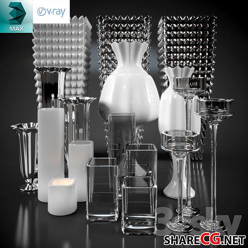 Modern Glass Vases - MX-0000050