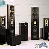 3ds Max Audio Speaker - Free 3d Models Download - 3DSAW.COM.