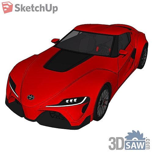Car Vehicle Models - Toyota FT 1 Concept - SU-0000144