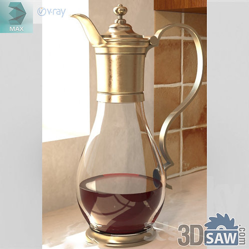 Bottle, Jar, Flask, Carafe - MX-810