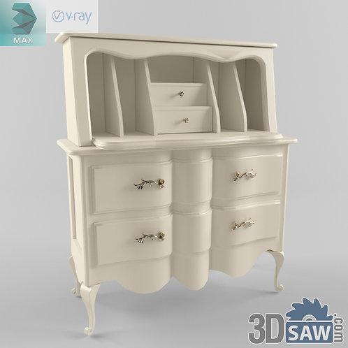 Cupboard - Baroque Decor - Vintage Furniture - MX-555