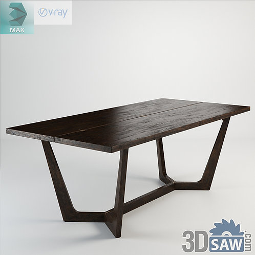 3ds Max Table Model - 3d Model Free Download - MX-1080