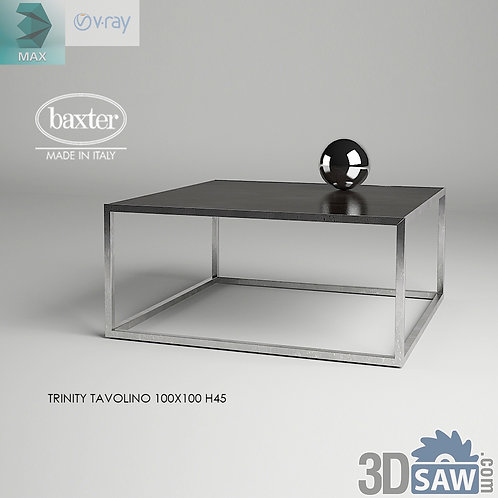 3ds Max Table Model - 3d Model Free Download - MX-1190