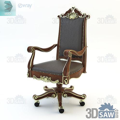 Chair - Baroque Decor - Vintage Furniture - MX-484