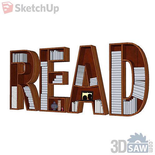 Pack Books -Bookshelf - SU-0000116