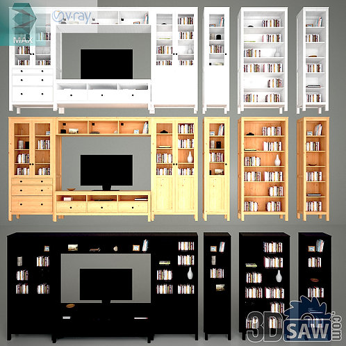 Wardrobe - Display Cabinets - Shelf - Sideboards - MX-744