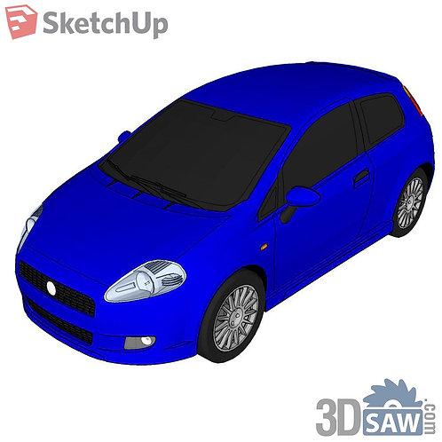 Car Vehicle Models - Grande Punto - SU-0000161