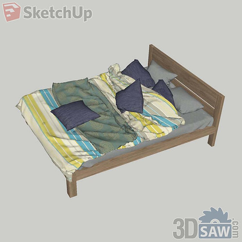 Bed - Bedroom Item Decor - SU-0000026