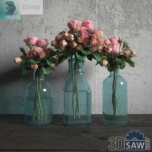 Flower Vase - Interior Plants - Planter - Plant - MX-668