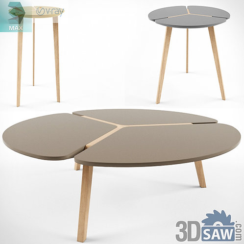 3ds Max Table Model - 3d Model Free Download - MX-1199