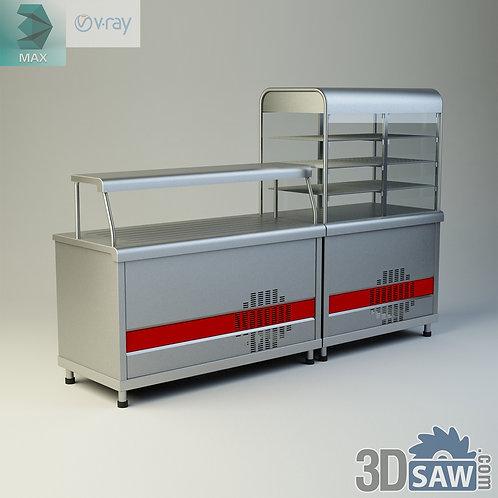 Warmer Display Cabinet - Food Display Case - MX-842